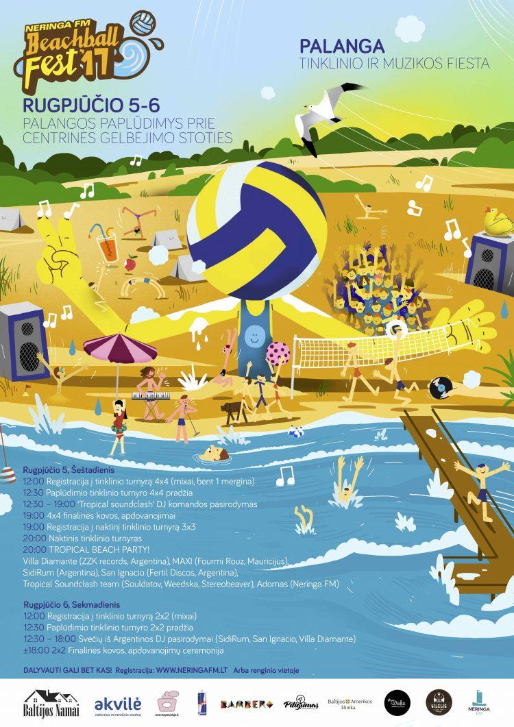 beachball fest palanga