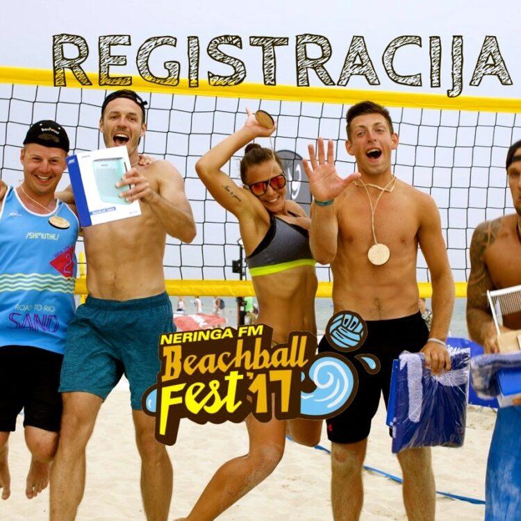 REGISTRACIJA BEACHBALL FEST