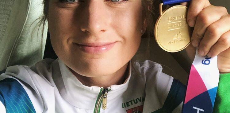 Viktorija Anrulytė - pasaulio taurės laimėtoja