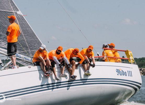 ORC jūrinių jachtų čempionato nugalėtojai - jachta Nida III