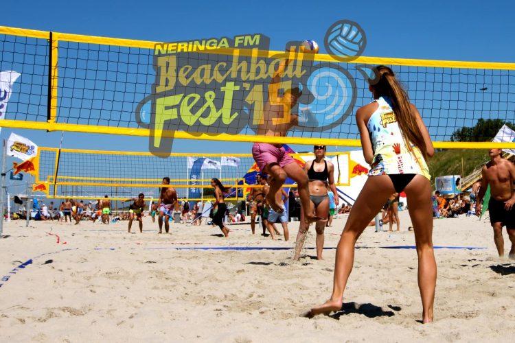 beachball fest 19 tinklinis tenisas saulė ir muzika